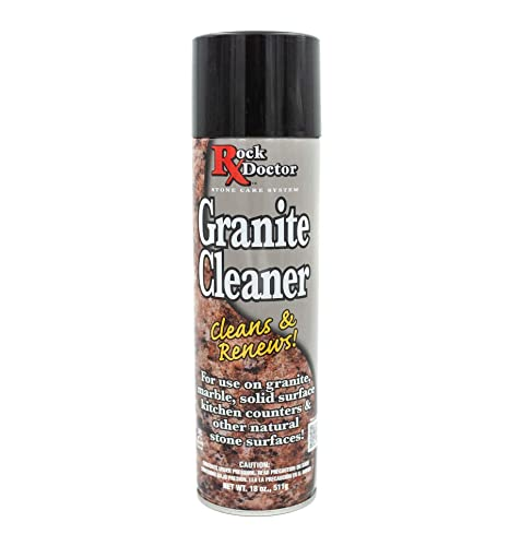 Excellent Rock Doctor Granite Cleaner Cleans Renews Surfaces 18 Oz Surface Cleaner Spray Granite Marble Quartz Countertop Cleaner Cleaning Spray For Download Free Architecture Designs Scobabritishbridgeorg
