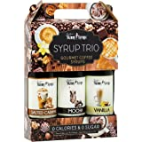 Skinny Syrups - Classic Syrup Trio Contains 3 Bottles Vanilla, Mocha , Salted Caramel by Jordan's Skinny Syrups
