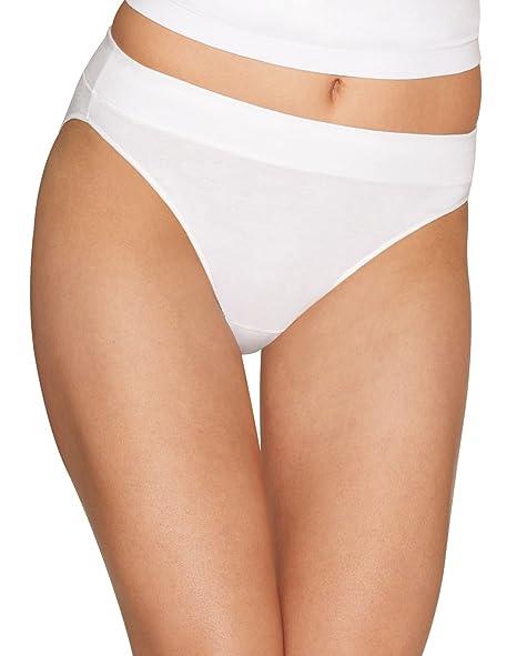 98f377bc8377 Hanes Women's Constant Comfort X-Temp Hi-Cut Panties at Amazon Women's  Clothing store: