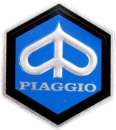 Emblem Piaggio Vespa Blau Schwarz 26 Mm Auto