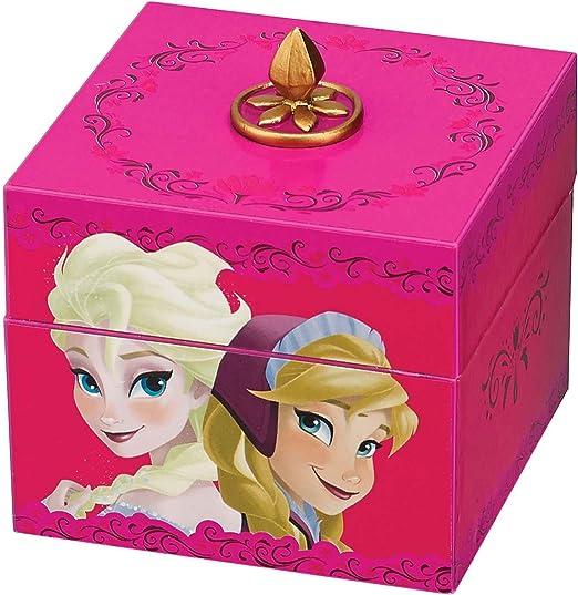 Disney Frozen Anna & Elsa Pink Keepsake Caja de Música: Amazon.es ...