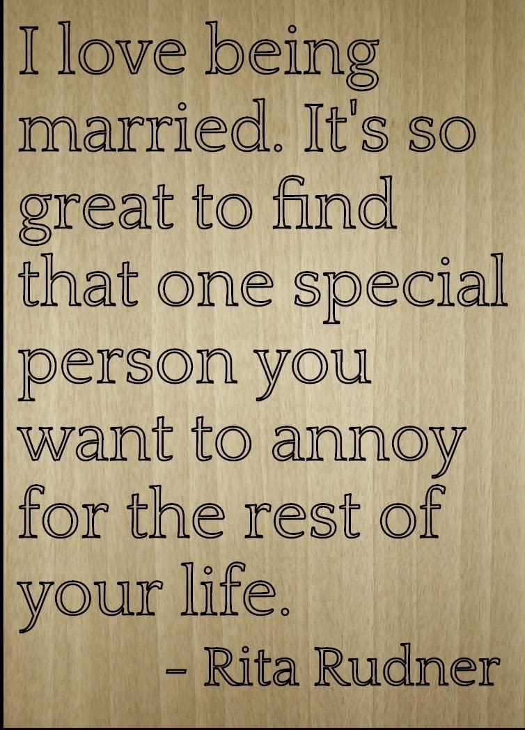 """NEW WOODEN QUOTE PLAQUE /""""MARRIAGE IS ABOUT FINDING SOMEONE TO ANNOY YOU FOR LIFE"""