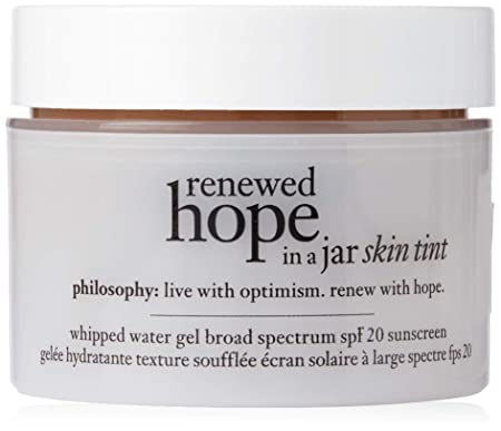 Philosophy Renewed Hope In A Jar Skin Tint Spf 20 – 9.5 Cocoa By Philosophy for Women – 1 Oz Gel, 1 Oz