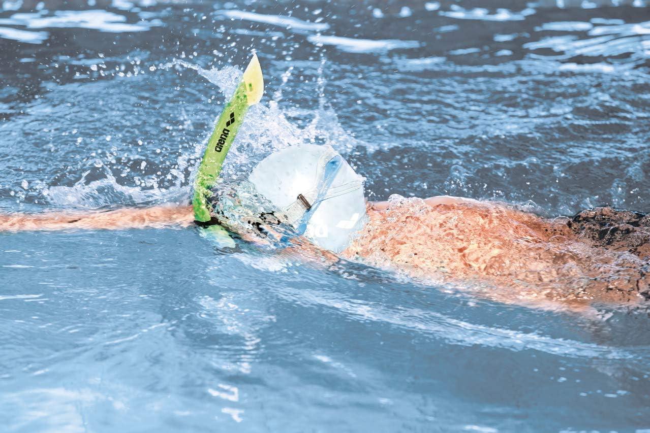 Rosa//Transparente 2018 Arena Swim Snorkel