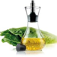 ele ELEOPTION Leak Proof Oil Dispenser Bottle - Glass Oil Bottle