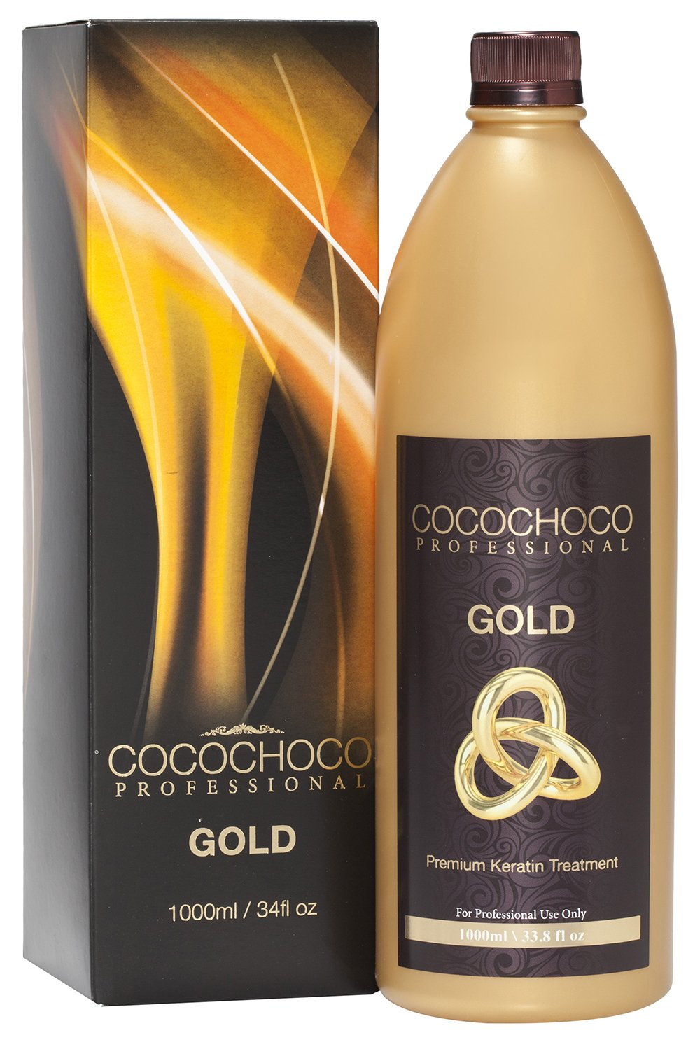 COCOCHOCO Professional Gold Premium Keratin Hair Treatment, 1000 ml 1000 ml G.R Global Cosmetics Ltd CC_GOLD1000