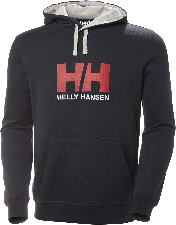 Helly Hansen Logo Hoodie Sudadera con Capucha Hombre