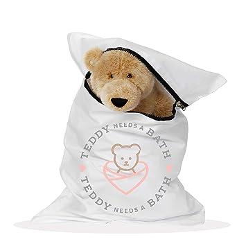 Amazon.com: Teddy necesita un baño. Bolsa grande de 20 x 30 ...