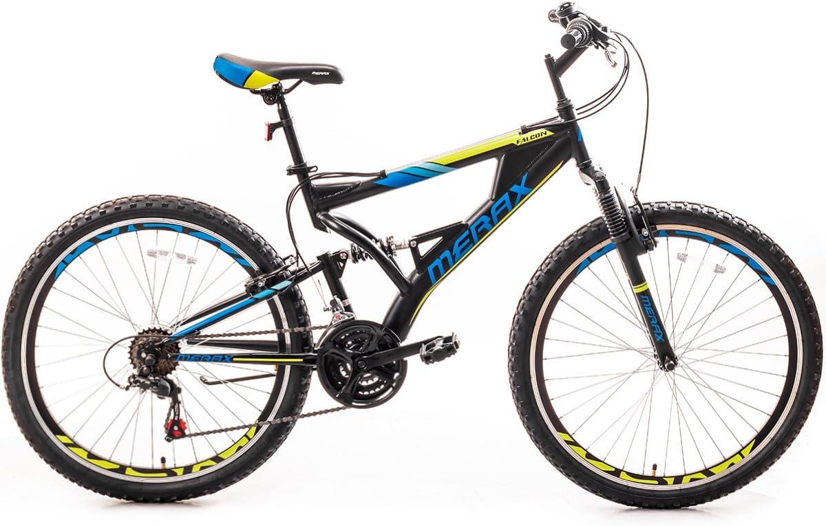 Merax FT323 Mountain Bike 21 Speed Full Suspension Aluminum Frame MTB Bicycle – 26 inch