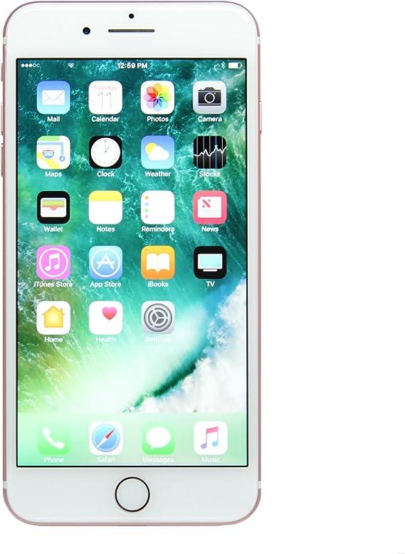 Amazon Com Apple Iphone 7 Plus 32gb Rose Gold Fully Unlocked Renewed