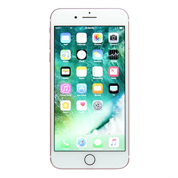 Apple I Phone 7 Plus, At&Amp;T, 128 Gb   Rose Gold (Renewed) by Amazon Renewed