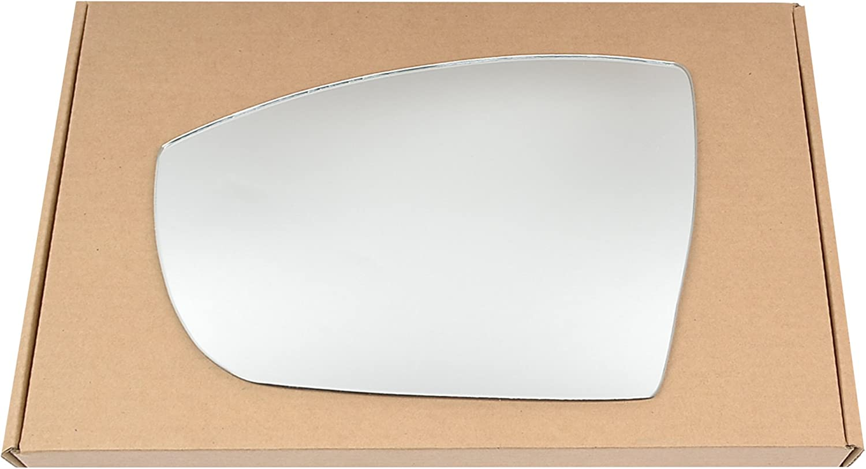 Left Near Passenger Side Stick On Mirror glass #FoKuga08-15-LC