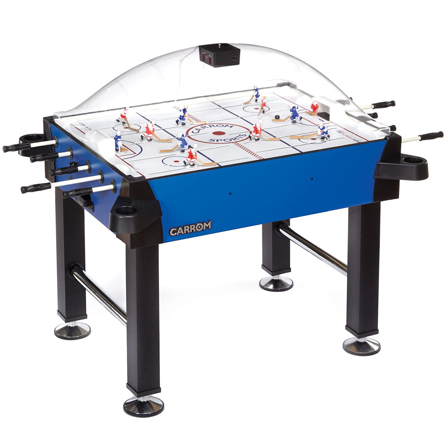 Carrom 435.00 Signature Stick Hockey Table With Legs (Blue)