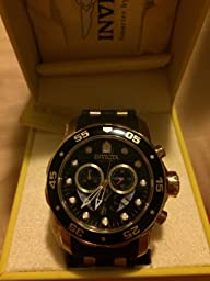 Amazon.com: Invicta Men\u0026#39;s 6981 Pro Diver Collection Chronograph ...