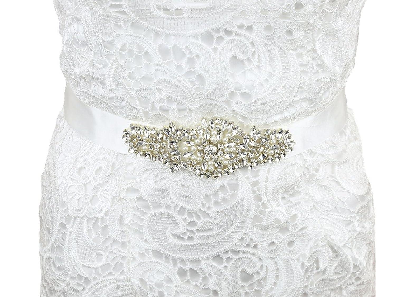 SoarDream Wedding Belt, Bridal Sash Belt, Rhinestone Bridal Belts.