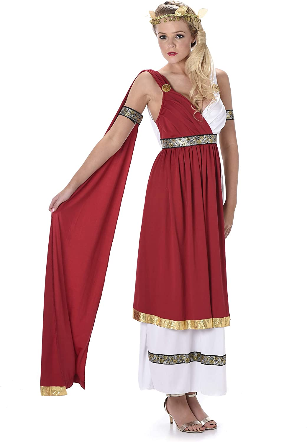 Multi Extra Large XL Karnival 81068 Roman Empress Costume Women