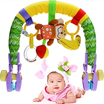 Beautiful Baby Stroller Toys Car Seat Infant Carriage Arch Toy Great Gift Idea