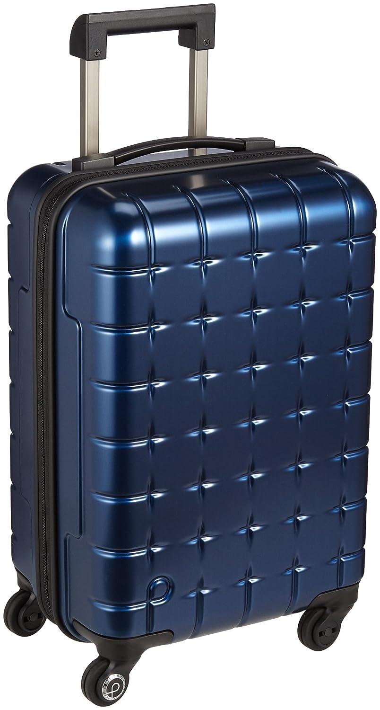 [プロテカ] Proteca スーツケース 日本製 360s(スリーシックスティエス)メタリック 3年保証 サイレントキャスター 49cm 32L 機内持込みサイズ B06X3X1VS3ネイビー