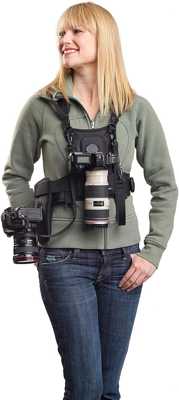 Cotton Carrier Weste Und Halfter Für 2 Kameras Kamera