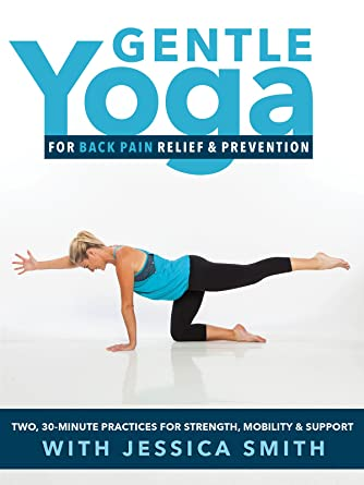 Amazon.com: Gentle Yoga for Back Pain and Prevention: 2, 30 ...