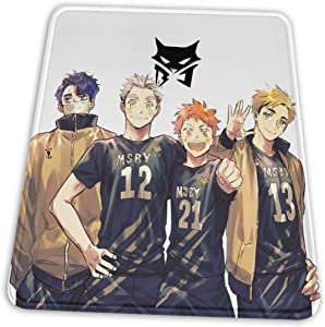 Team Msby Black Jackal Haikyuu Hemming The Esports Mouse Pad Office Accessories Desk Decor Slip Rubber Mouse Pad