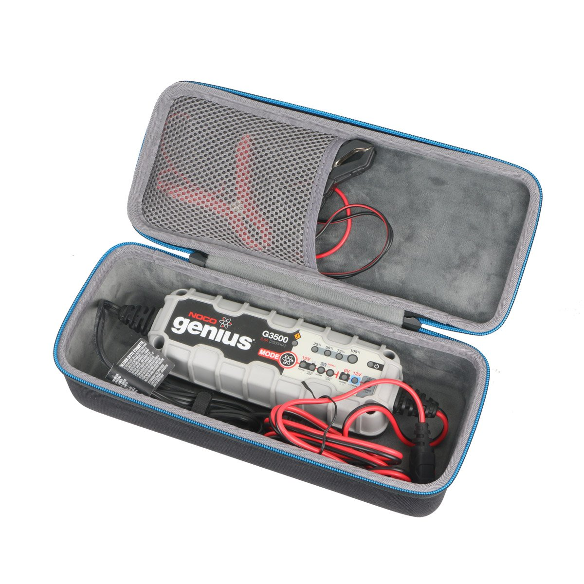 Baval Protective Carrying Case for Noco Genius G3500 6V/12V 3.5A UltraSafe Smart Battery Charger