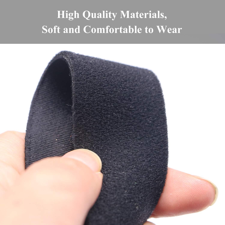 Resmed kompatibel mit den meisten Nasen- Vollgesichts-Schlaf-Apnoe-Masken der Atemwege Universal CPAP Kopfbedeckung Resmart Ventilator Hersvin Ersatz-Kopfband