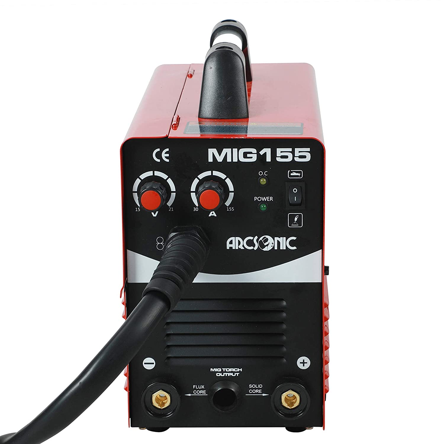 220V Mig Welding Machine MIG155 Gas/No Gas, MMA/MIG Flux Wire Welding machine 2 in 1 MMA/Mig Welding Machine 220V Input - - Amazon.com