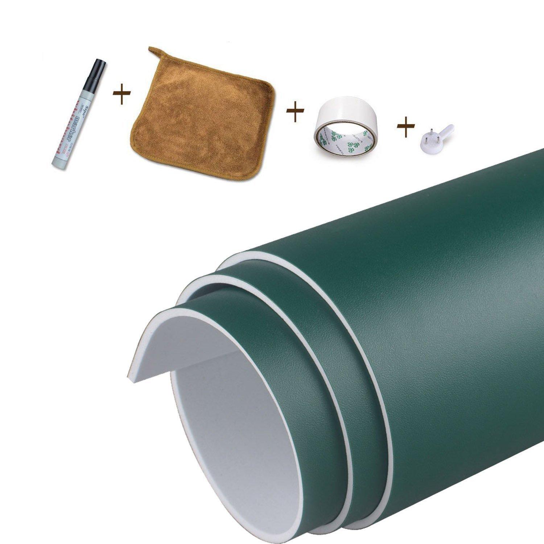 Magjump Pizarrón autoadhesivo de pizarra Pizarra blanca EVA Material Pizarra de borrado en seco Papel de contacto de pared Papel de pizarra extraíble ...