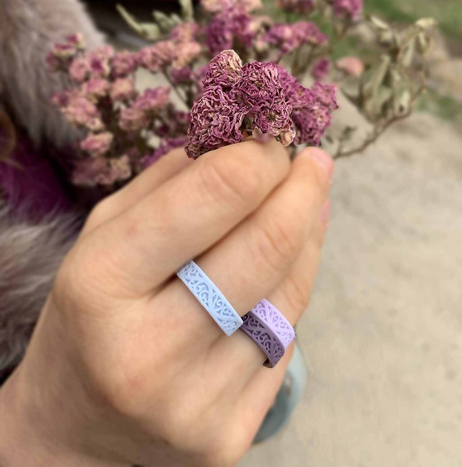 from The Latest Artist Design Innovations to Leading-Edge Comfort Leading Brand KAUAI Silicone Wedding Ring for Women Pro-Athletic Ring /& Kauai Elegance Rings Collection
