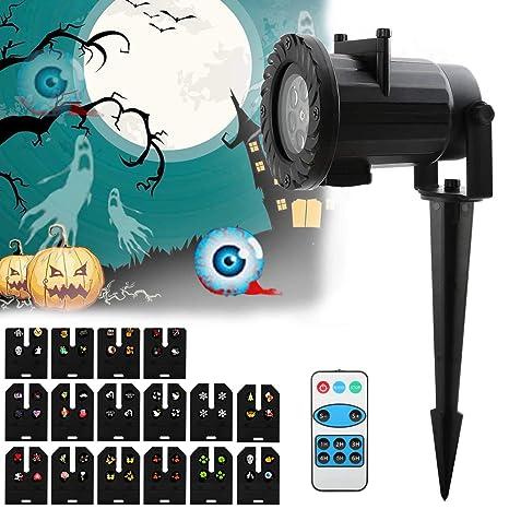 OKPOW - Proyector de luces de navidad con 15 diapositivas a color ...