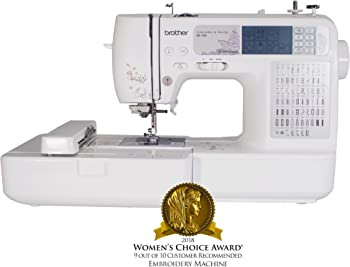 Brother SE400 Combination Sewing and Embroidery Machine