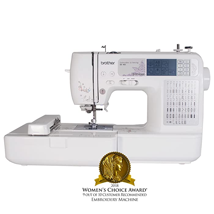 Brother SE400 - Budget Friendly Embroidery Sewing Machine Combo