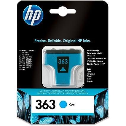 1 x HP Photosmart 3310 - Cartucho de tinta para impresora - Cian ...