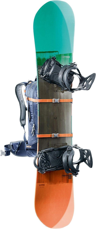 Deuter Freerider Polyamide Polyester Blue Backpack Polyamide, Polyester, Blue, Pattern, Men, Hydration System Compartment, Wet Pocket, Skis, Snowboard