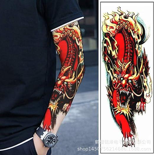 tzxdbh 3 Unids-Brazo Completo Etiqueta engomada del Tatuaje ...