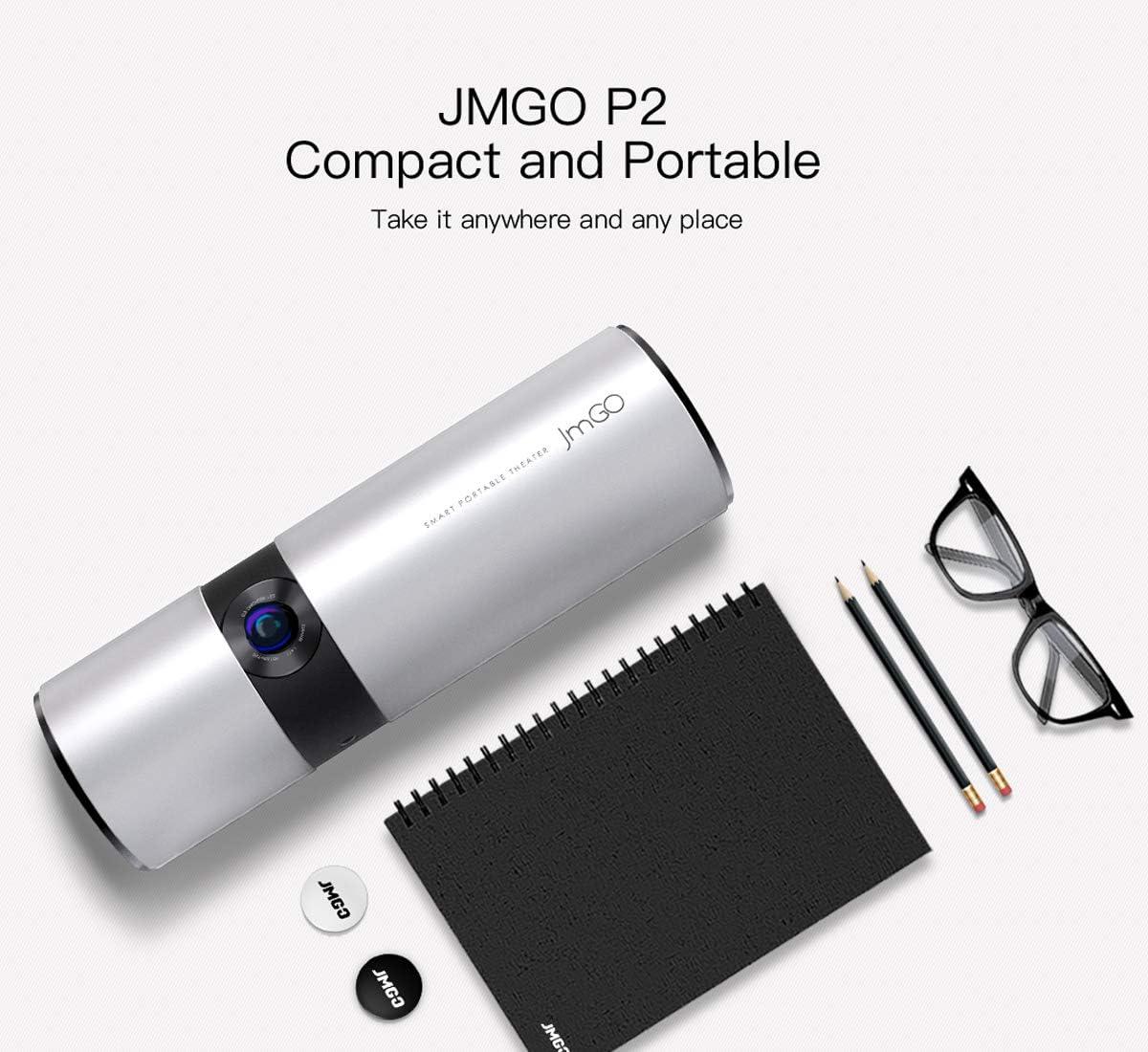 Mini proyector, LiveTV.Direct mejorado JmGO P2 Cine Portátil DLP ...