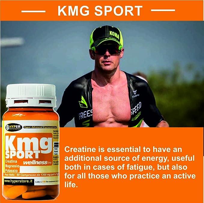 4 paquetes de 60 comprimidos Creatina Magnesio Potasio mayores de energía menos fatiga 60 CPR ¿Cansado? Usted está sujeto a sufrir calambres ? Suda mucho ?
