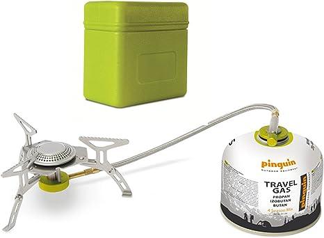 Hornillo de gas con diseño de pingüino Spider Mini para ...
