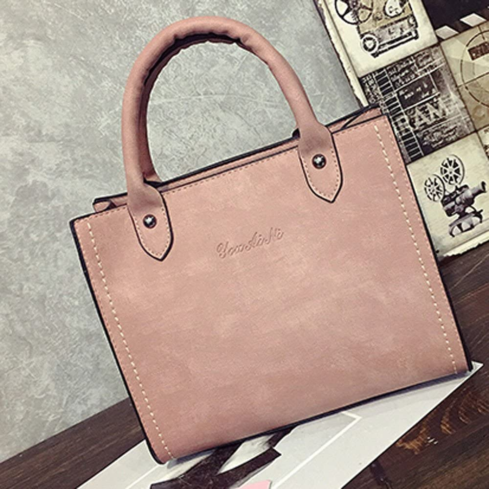 Fashion Women Crossbody Bag Shoulder Bag PU Leather Messenger Tote Bag Hosamtel