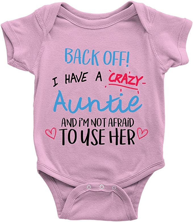 Baby Romper Zarlivia Clothing I Have The Best Aunty in The World Baby Boy Romper Baby Girl Romper
