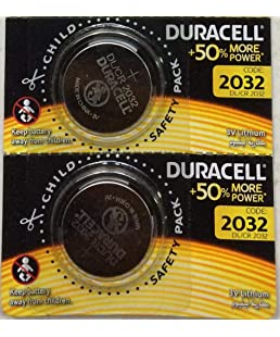 Duracell Cr 2032 Battery (Pack of 2)