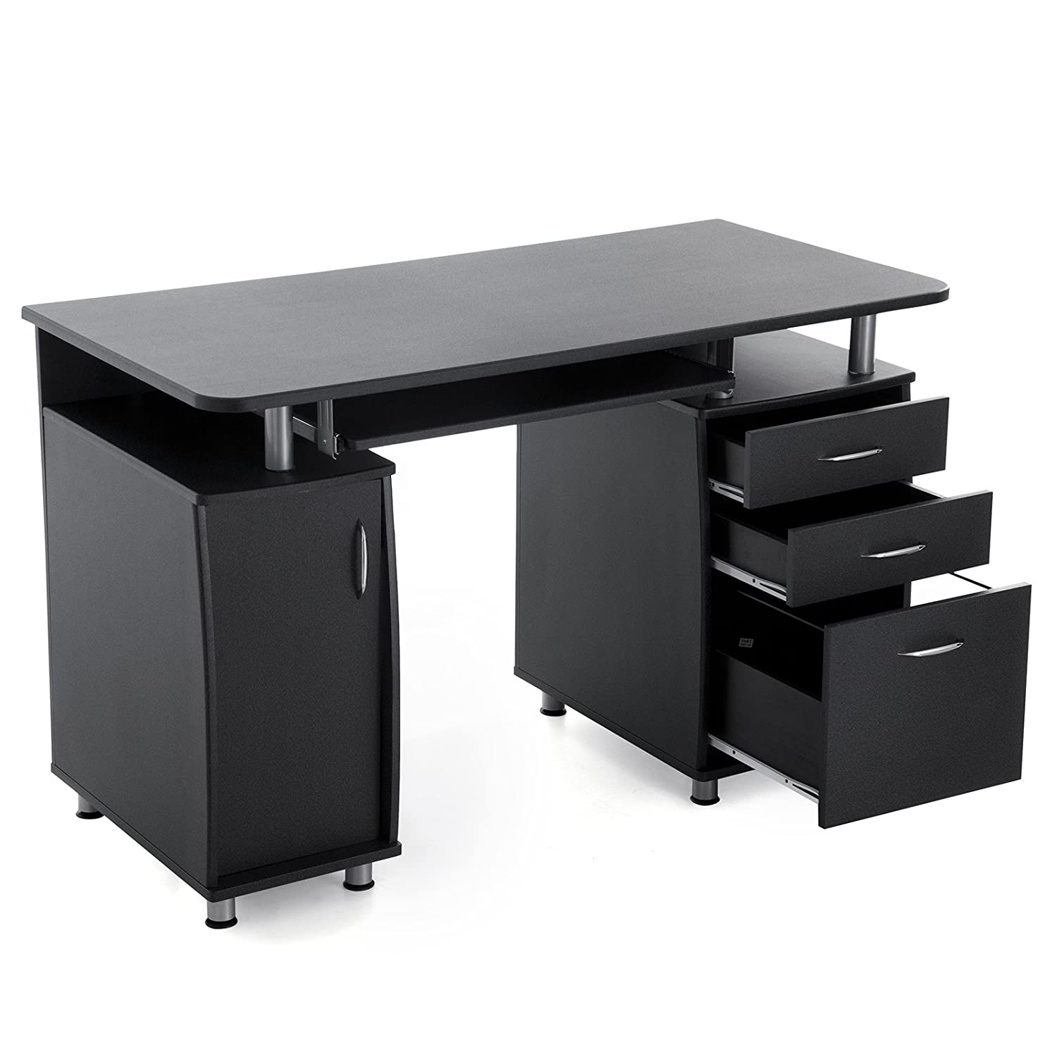 amazone bureau bureau amazon buramz001 rehausse bureau bureau pour ordinateur bureau enfant. Black Bedroom Furniture Sets. Home Design Ideas