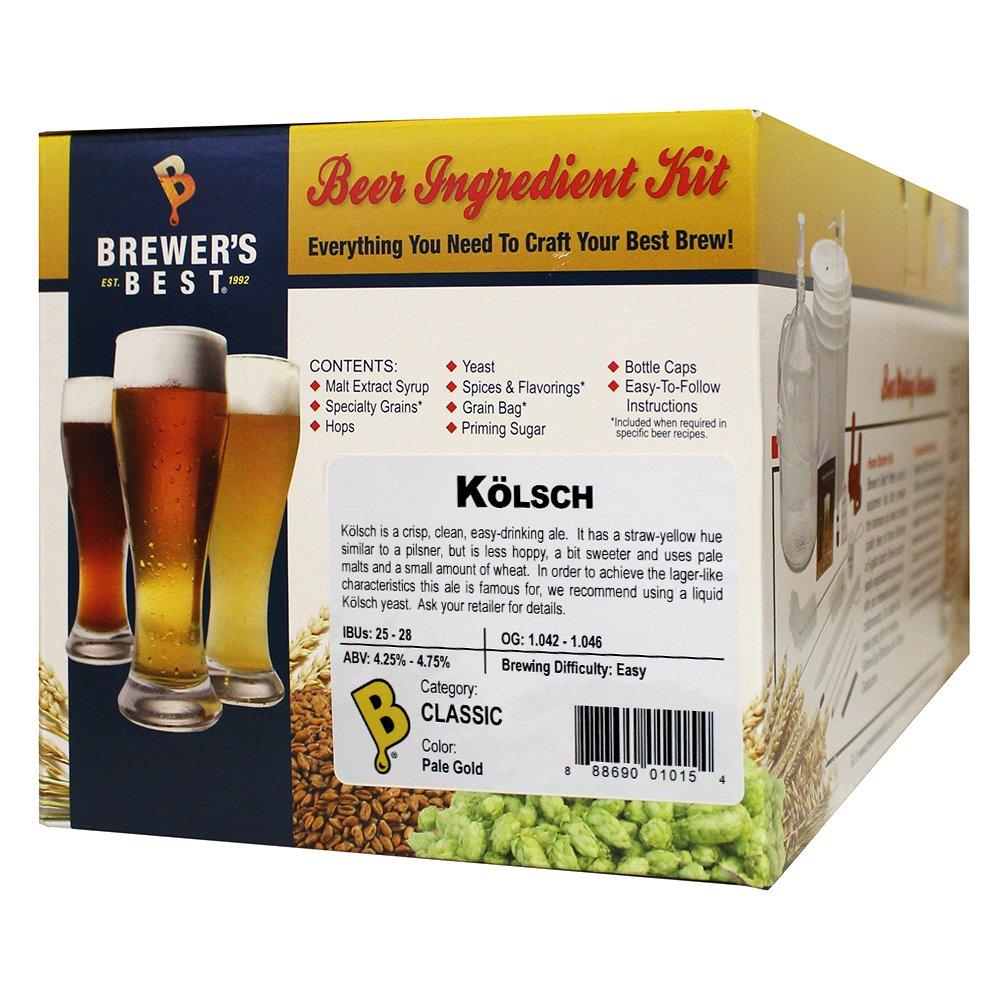 Brewer's Best - Home Brew Beer Ingredient Kit (5 gallon), (Kölsch) by Brewer's Best
