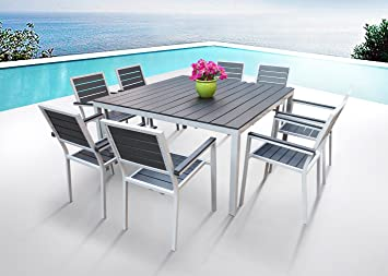 Amazoncom Outdoor Patio Furniture New Aluminum Resin 9 Piece