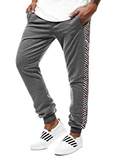 11afac5791e6c0 OZONEE Herren Jogg Hose Freizeithose Sporthose Jogginghose Jogger  Trainingshose Fitness J.Style AK11