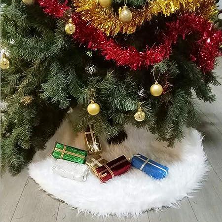 MYYXGS Falda De áRbol De Felpa De Navidad Falda De áRbol De ...