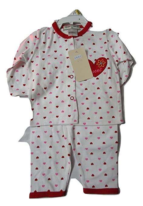 38c5874b97 Buy Lance Night Suits for Babies(Red) Online at Low Prices in India -  Amazon.in