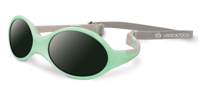 Visiomed 06902S-7 Babysonnenbrille, 0-12 Monate, grün grün VO-06901/6