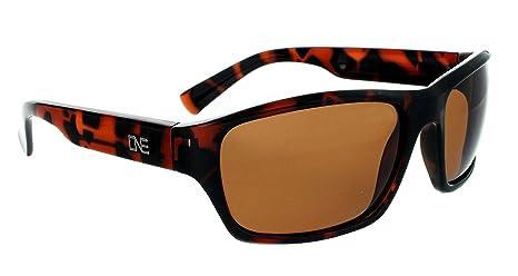 e813e9fcd007c Optic Nerve Tundra Polarized Sport Sunglasses - Shiny Dark Demi Frame with  Polarized Brown Lens
